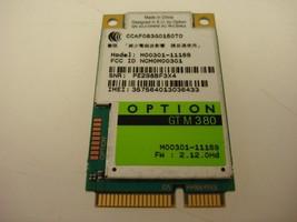 Option GTM380 Mini PCI-E 3G WWAN Wifi Wireless Card HSUPA HSDPA 7.2M M00301 - $12.82