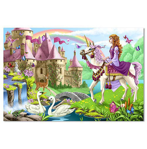 Fairy Tale Castle Floor Puzzle by Melissa & Doug