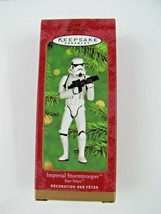 2000 Hallmark Ornament Star Wars Imperial Stormtrooper Mint in Mint Box - $15.74