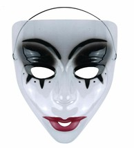Transparent Halloween Maske - Tag der Toten / The Purge , Maske C, Kostüm - £1.89 GBP