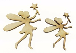 Set of 5 Fairy Shapes, 2 Sizes Ideal for Craft Projects Children Fairy S... - $16.65