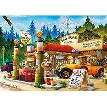 Buffalo Games - Pine Road Service - 300 Large Piece Jigsaw Puzzle - $22.18