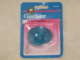 Vintage Gerber Preemie Pacifier 1999 Blue NEW Reborn Doll - $39.59