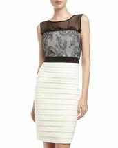 NWT JAX Lace Top Sheath Dress Sz 6 - $37.99