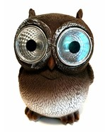Small Solar Owl with Big LED Eyes Indoor Outdoor Light 3 3/4 inches Tall - $12.86