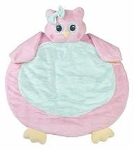 Bearington Baby Lil' Hoots Belly Blanket, Pink Owl Plush Stuffed Animal ... - $25.71