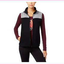 Energie Active Juniors' Fleece Vest and Graphic T-Shirt 2 Piece Se M BLACK  - $3.86