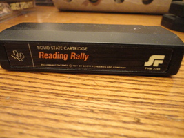 TI 99/4A Reading Rally tested educational game cartridge Texas Instruments  - $7.99