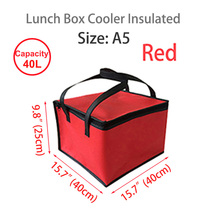 "Lunch Box Cooler Insulated Bag,Lunch Boxes for Adults 15.7""×15.7""×9.8""(S... - $23.99"