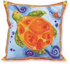 Diamond Dotz Turtle Journey Pillow 5D Diamond Painting Facet Art Kit - $27.95