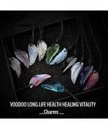 LONG LIFE HEALTH HEALING VITALITY Voodoo magick charm talisman haunted - $120.00