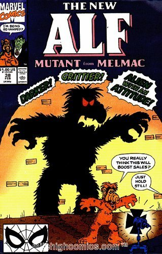 Primary image for The New Alf Comic # 38 / Feb By Marvel Comics (Mutant from Melmac, 38) (Mutant f