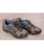 Asics Womens Gel Venture 5 TSN8N Grey Blue Running Trail Hiking Shoes 8.5 - $40.59