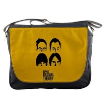 Messenger Bag The Big Bang Theory Bazinga Yellow Design Animation Gaming... - $30.00
