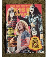 KISS SUPER ROCK SPECTACULAR Magazine Winter 1978 Complete Excellent Cond... - $30.00