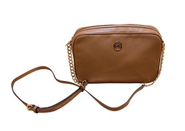 Michael Kors Fulton Leather Large East West Cross-body (Acorn) - $130.56