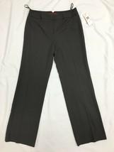 AK Anne Klein Women's Gray Dress Pants Size 10 Stretch   - $26.71