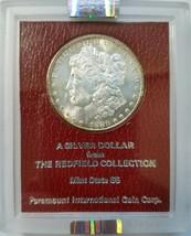 1880 S Morgan Dollar Redfield Collection NGC MS 63 Hoard Pedigree Param... - $349.99
