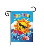"Fun in the Sun - 13"" x 18.5"" Impressions Garden Flag - G156069 - $17.97"