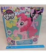 My Little Pony Pinkie Pie Floor Puzzle w/ Furry Mane Hair NEW - $12.00
