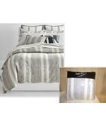 $420 Lauren Ralph Lauren Taylor Woven Stripe Full/Queen Comforter Set - $143.55