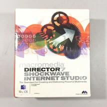 Vintage Software Macromedia Director 7 Shockwave  NEW Sealed Windows 95 ... - $71.52
