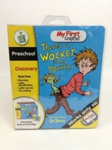 My First LeapPad Leap Frog There's a Wocket in my Pocket Book & Cartridge - $8.86