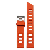 Strap Bracelet FOR Omega Seamaster Speedmaster Silicone rubber band Orange 20mm - $39.99