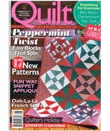 Back Issue of Quilt Magazine January 2010 #106 Quilt Craft Patterns - $7.99