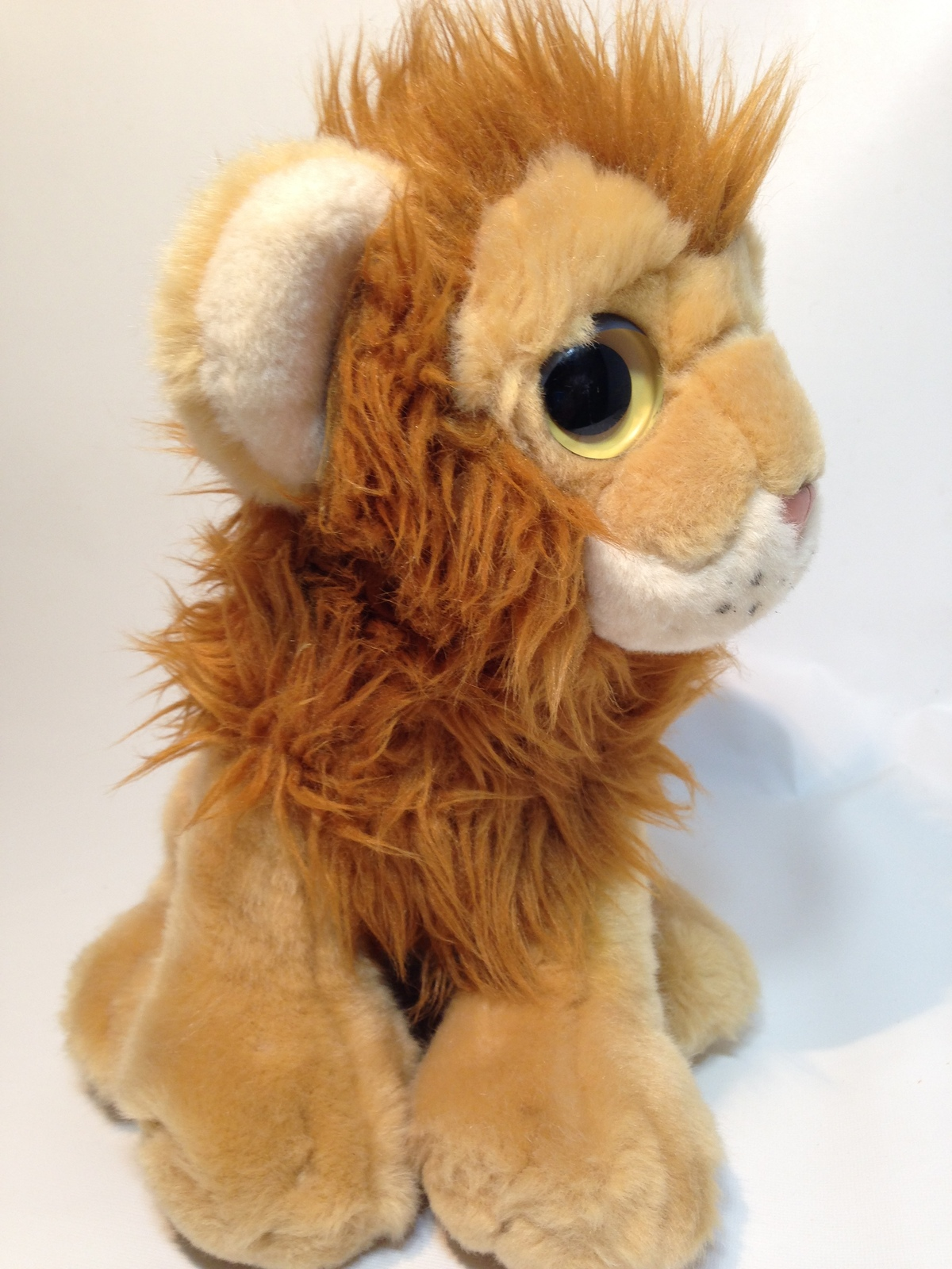 b3ca27ad12d Ty Kingston Lion Plush Wild Wild West Classic Cat Brown Stuffed Animal Toy  2011