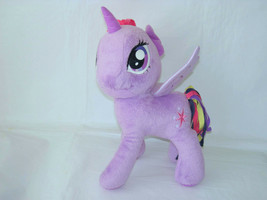 "2014 My Little Pony Hasbro Twilight Sparkle Purple Plush Toy 12"" - $11.88"