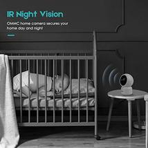 OMMC Wireless Security Camera 1080P, Baby Monitor Home IP Camera with Night Visi image 4