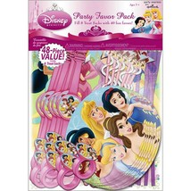 Disney Fanciful Princess 48 Piece Party Favor Package Birthday Supplies New - $10.84