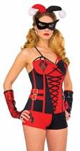 Rubies DC Comics Deluxe Adult Harley Quinn Corset Halloween Costume 840003 - $41.47