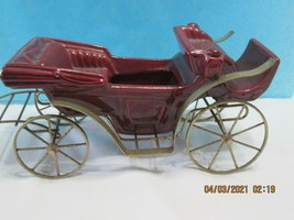 Model T / Antique Car Planter in Brass Burgundy  Horseless Carriage (4-... - $12.75