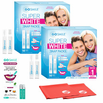 NEW Go Smile Super White 2Pack Teeth Whitening System with Stain Erasers... - $113.84