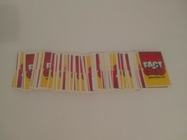 FACT OR CRAP Game replacement pieces parts 180 QUESTION CARDS 2009 - $6.97