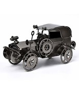 QBOSO Metal Antique Vintage Car Model Handcrafted Collections Collectibl... - $21.19