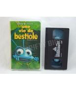 Disney Pixar Une vie de Bestiole A Bug's Life VHS VideoTape French Franc... - $16.82
