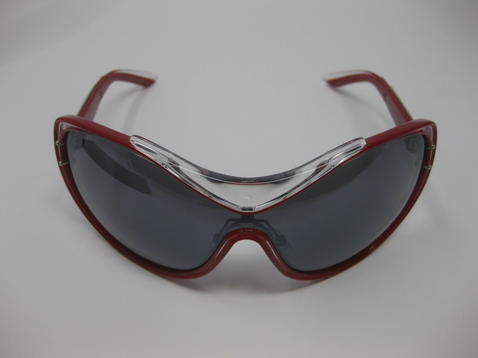 7b8b1a6177 Dior Striking 62Y ZH Crystal Red Striking Sunglasses Lens Oversized New