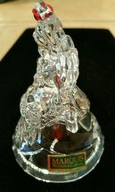 Waterford Crystal Marquis Noel Angel Bell Christmas Ornament Third in a Series image 7