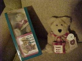 "BOYD'S BEARS (2) - Beary Best Mom 5"" Plush Bear and Book - Merci Bearcoo Plush - $11.95"
