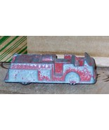 Midgetoy Red Fire Engine Truck Rare Rockford ILL.~ 1958 Vintage - $14.95