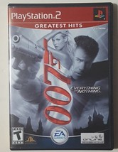 James Bond 007 Everything or Nothing - PlayStation 2 PS2 Video Game CIB ... - $10.84
