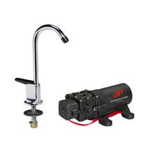 Johnson Pump 1.1 Pump/Faucet Combo 12V [61123] - $86.60