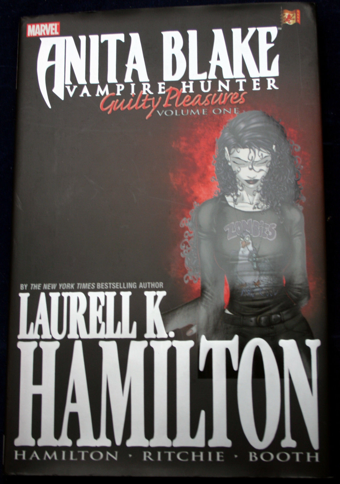 Primary image for GUILTY PLEASURES: ANITA BLAKE VAMPIRE HUNTER V1 Hamilton Ritchie Booth Graphic