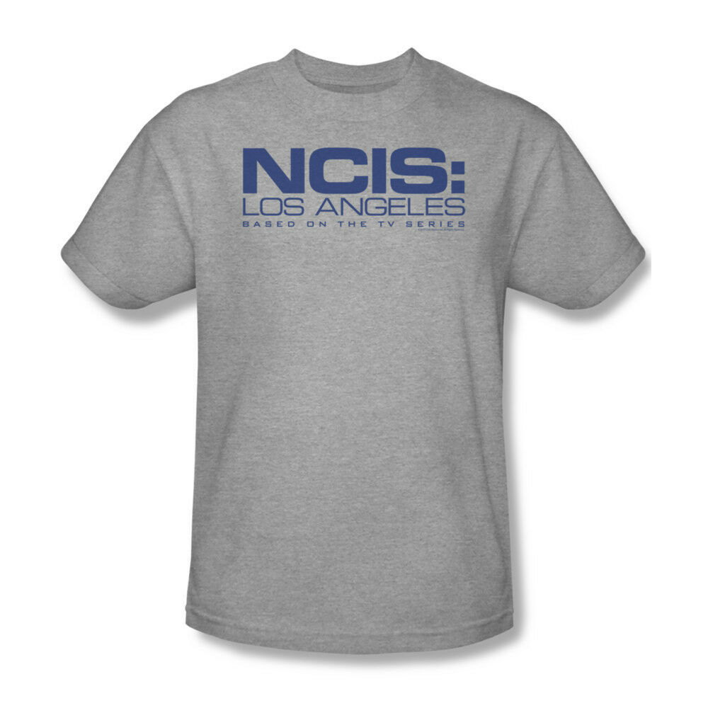 NCIS Los Angeles T-shirt Based On TV show 100% cotton grey tee CBS708