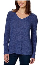 Calvin Klein Jeans Ladies' Textured Sweater Navy , Large - $20.00