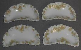 Haviland Porcelain THE COUNTESS PATTERN Set (4) Bone Dishes LIMOGES FRANCE - $49.49