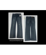 Lucky Brand Girl's Blue Jeans Sz 12 Harper Kick Flare Medium Wash - $11.99
